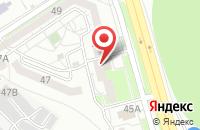 Схема проезда до компании ПАРИТЕТ в Белгороде