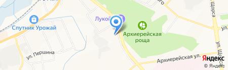 Эвакуатор-Белгород на карте Белгорода