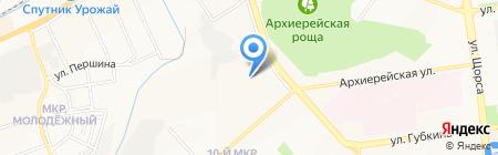 Детский сад №89 на карте Белгорода