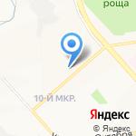 Мега Хенд на карте Белгорода