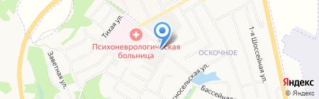 Негабарит-31 на карте Белгорода