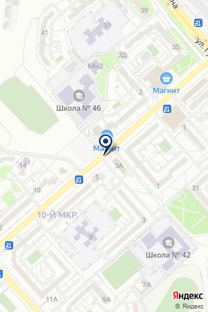 АПТЕЧНЫЙ ПУНКТ АЛЬТАФАРМ на карте Белгорода