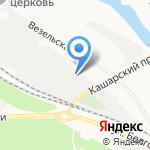 Пантеон на карте Белгорода