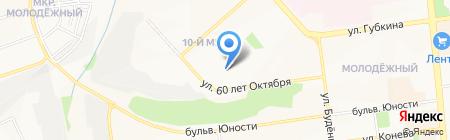 Фалькор на карте Белгорода