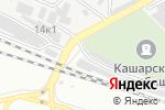 Схема проезда до компании Мастер Шин в Белгороде
