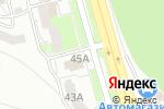 Схема проезда до компании Технопарк в Белгороде