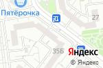 Схема проезда до компании Бел-ремонтСМ в Белгороде