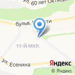 Незабудка на карте Белгорода
