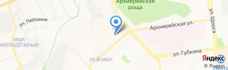 Точка на карте Белгорода
