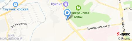 Домашний на карте Белгорода