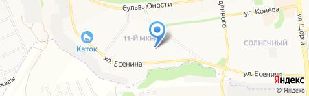 Продуктовый магазин №46 на карте Белгорода