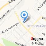 Круглый на карте Белгорода