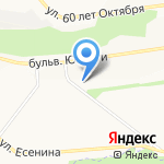 Окна Сервис на карте Белгорода