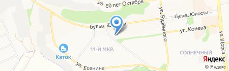 Аптека на карте Белгорода