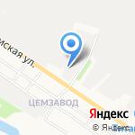 Каркас-Эксперт на карте Белгорода