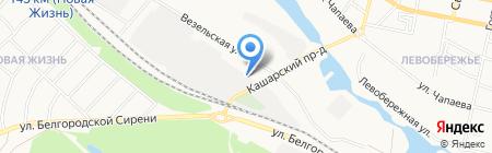 Мир продуктов на карте Белгорода