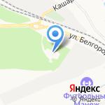 Ботанический сад на карте Белгорода