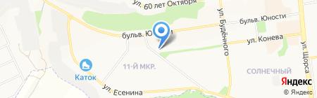 Империя пива на карте Белгорода