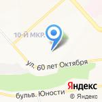 Продмет на карте Белгорода