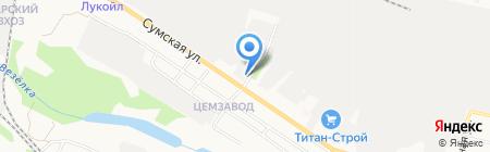 Всероссийское добровольное пожарное общество на карте Белгорода