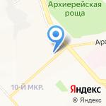 Магазин детской одежды и игрушек на карте Белгорода