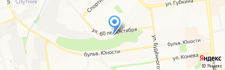 Винегрет на карте Белгорода
