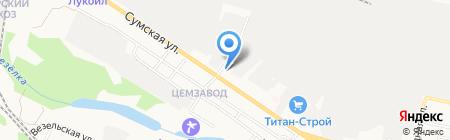 Управление Министерства юстиции РФ по Белгородской области на карте Белгорода