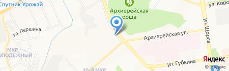 Фотосалон на карте Белгорода