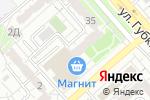 Схема проезда до компании Хрусталь Сервис в Белгороде