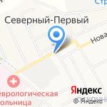 Таврово на карте Белгорода