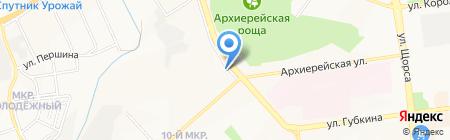 +7 на карте Белгорода