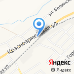 Вираж на карте Белгорода
