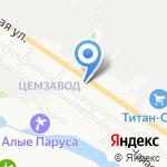 Пищепромпереработка на карте Белгорода