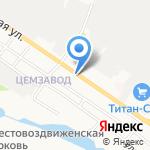 С-Холод на карте Белгорода