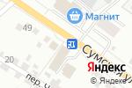 Схема проезда до компании Технарь в Белгороде