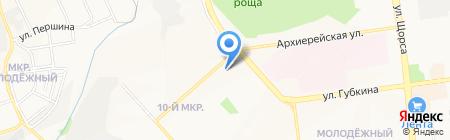 ДымОк на карте Белгорода