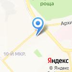 ПРАНА на карте Белгорода