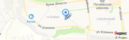Добрый день на карте Белгорода