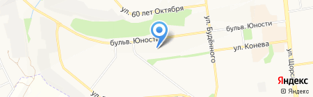 Радуга на карте Белгорода