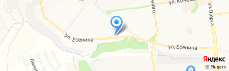 Автостоянка на карте Белгорода