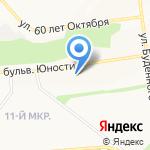 Цифровое ТВ на карте Белгорода