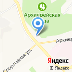 Стройбат на карте Белгорода