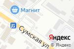 Схема проезда до компании Рекламания в Белгороде