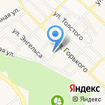 Средняя общеобразовательная школа №13 на карте Белгорода