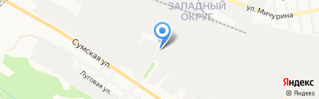 Оптовая компания на карте Белгорода