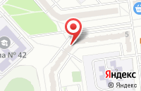 Схема проезда до компании ТехПромСтрой в Белгороде