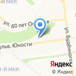 Южный на карте Белгорода
