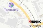 Схема проезда до компании Краски Квил в Белгороде