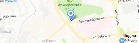 Фауна на карте Белгорода