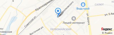 Царь-пиво на карте Белгорода